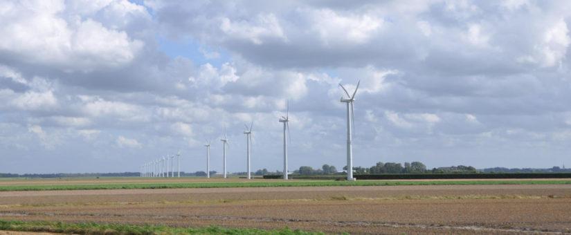 Windpark Groetpolder in Hollands Kroon